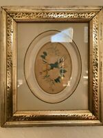 Lovely early 19th/late 18th century Still Life Floral Watercolor Framed, MB342