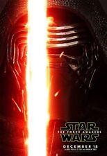 Star Wars The Force Awakens Original Vinyl Cinema Banner 8ft x 5ft, Kylo Ren