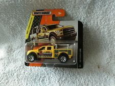 DIECAST MODEL CAR MATCHBOX CONSTRUCTION FORD F 150 YELLOW
