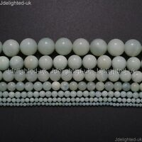 Natural Amazonite Gemstone Round Loose Beads 2mm 3mm 4mm 6mm 8mm 10mm 12mm 16''