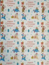 Personalized name Wrapping Paper 1 meter christmas gift wrap dinosaurs