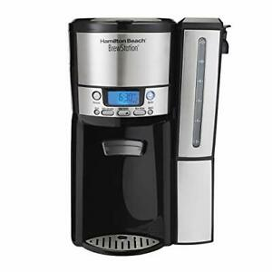 Hamilton Beach (47950) Coffee Maker with 12 Cup Capacity & Internal Storage Coff