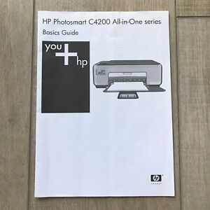 HP Photosmart C4200 All-in-One Series Basics User Guide Manual