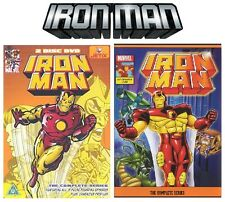 Iron Man 1960s series + Iron Man 1994 series this release is rare oop 3 SERIES