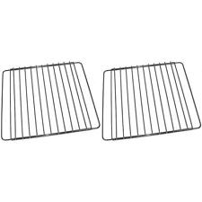 2x Universal Bosch Adjustable Oven Cooker Shelf Rack Grill 390mm To 550mm