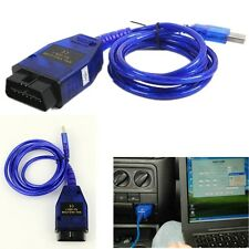 Car Vehicle Auto Trouble Diagnostics Scanner USB Cable With VCD Software Code US