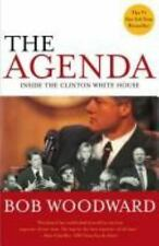 The Agenda Inside the Clinton White House Bob Woodward 1994 Hardcover FIRST ED