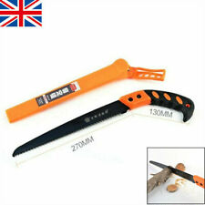 More details for wood branch tree saw pruning trimming cutting garden hand tools w/holster 270mm