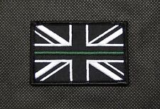 PSNI Thin Green Line Union Flag Patch Police Service Of Northern Ireland Hook