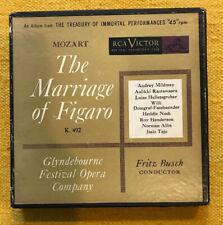 FRITZ BUSCH-MOZART THE MARRIAGE OF FIGARO, RARE 45's BOX SET