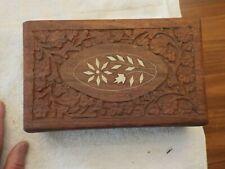 Made In India Trinket Jewelry Dresser Box