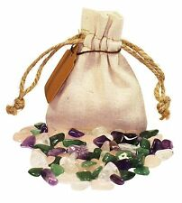 Healing Power Pouch Healing Crystals Stones Set Tumbled Natural Gemstones