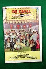 Vintage DE LAVAL 1949 Year Book Handy Reference - John De Kraker ( Case Dealer)
