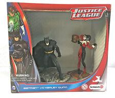 SCHLEICH JUSTICE LEAGUE BATMAN VS HARLEY QUINN FIGURES DC COMICS NEW