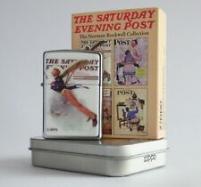 Zippo Lighter ● The Saturday Evening Post ● Flying Uncle Sam ● Neu New ● B82