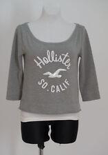 Medium Hollister Long Sleeve Cotton Blend Women's Jumpers & Cardigans