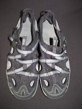 Ahnu Black Strap Buckle Off Road Sandals Synthetic Textile Women's 10M