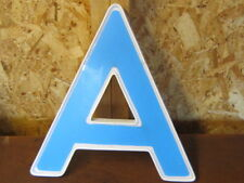 PLASTIC LETTER ---A---15 INCHES