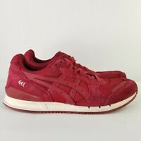 Asics Gel Classic  Mens Shoes H62AK Burgundy Size 11