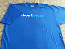 Vintage Promo R&B T-Shirt - EBONI FOSTER - MCA RECORDS 1998 Bay Area Artist
