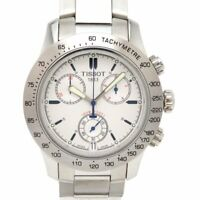 Tissot Michael Owen Model Chronograph Quartz Silver Dial Stainless Men's