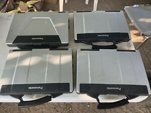 Panasonic Toughbook Cf-53, Working Condition ,lot Of 4 Units,no Caddy,no Charger