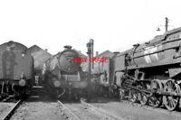 PHOTO  LMS BLACK FIVE LOCO NO 45013 CARLISLE 1ST MAY 1966