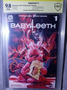 BABYTEETH #1 CGC 9.8 SS Signed DONNY CATES CHRIS VISIONS HerosCon Exclusive