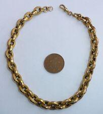 9 Carat Yellow Gold Chain Victorian Fine Jewellery
