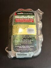 Cooper Wiring Devices - Tp7488W - Outdoor Weather Box, 3 1/4� Depth- New