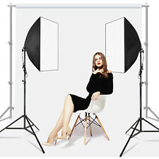 2-Pack Lighting Softbox Photography Photo Stand for Lighting Kit Equipment