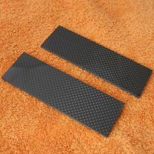 Carbon fiber Knife Scale pair, blanks custom knife supply OD handle #001
