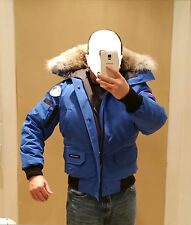 2018 LATEST CONCEPT POLAR BEAR CANADA GOOSE BLUE LABEL PBI CHILLIWACK SM PARKA