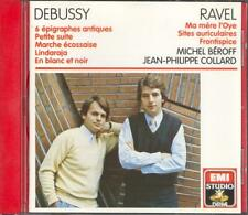 DEBUSSY & RAVEL - 2 Pianos & 4 Hands - Michel BEROFF / Jean-Philippe COLLARD EMI