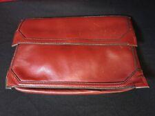 Vintage Genuine Leather Clutch Handbag Made in Korea