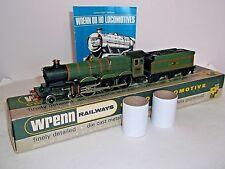 WRENN W2211 CARDIFF CASTLE, 4075 in BR green - boxed, instructions