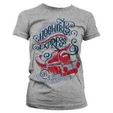 T-shirt, maglie e camicie da donna grigi in poliestere taglia taglia unica