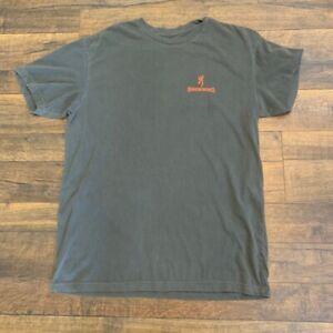 BROWNING graphic  t-shirt ,black, MEDIUM