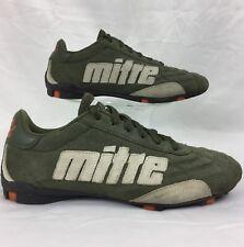 vintage MITRE suede indoor soccer/futbol/football shoe men's 7 / women's 8.5