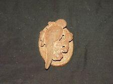 Vintage Antique Rustic Cast Iron Door Knocker Bird Parrot