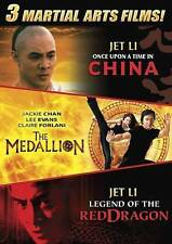 Once Upon A Time In China / The Medallion & Legend Of The Red Dragon Dvd Jet Li