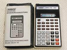 1975  Vintage Taschenrechner MBO Delta 40