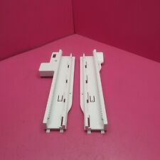2 KENMORE ELITE REFRIGERATOR FZ DRAWER TRACK SLIDE RAIL HOLDERS AEC73317801