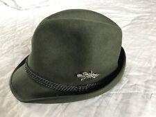 Checa de caza sombrero de fieltro de calidad TONAK