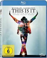 Michael Jackson's This Is It  [Blu-ray]   DVD   Zustand sehr gut