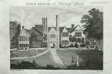 Antique (Pre - 1900) Houses Original Art Prints