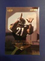 1999 Collectors Edge #187 AMOS ZEREOUE Rookie RC Pittsburgh Steelers GOLD INGOT
