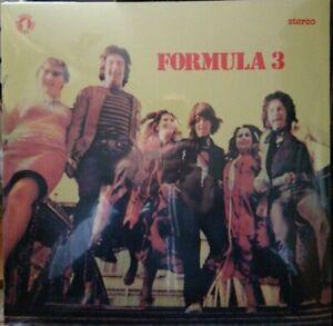 LP FORMULA 3 - VINILE 180 G. - NUOVO SIGILLATO - COPERTINA SEGNATA