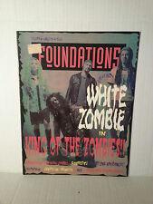 "WHITE ZOMBIE - RARE ""FOUNDATIONS"" MAGAZINE- FREE SHIPPING"