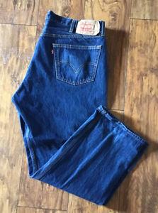 """LEVI'S 501 Men's Jeans W44 L32, Button Fly, Actual measurements W42"""" L29"""""""